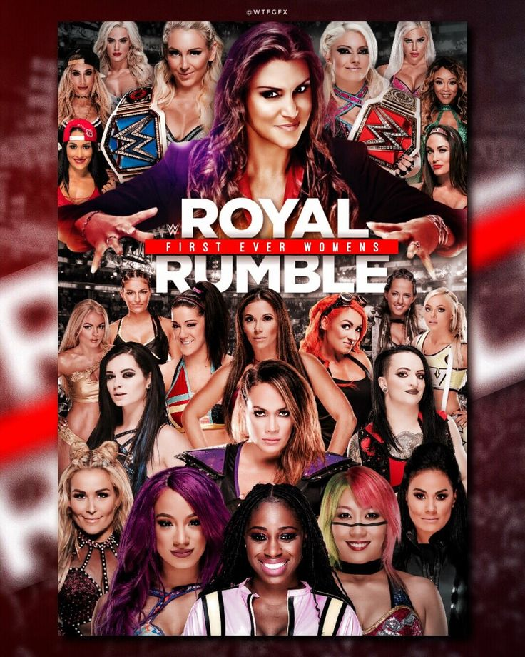 For the first time there will be a WWE Woman Royal Rumble 2018
