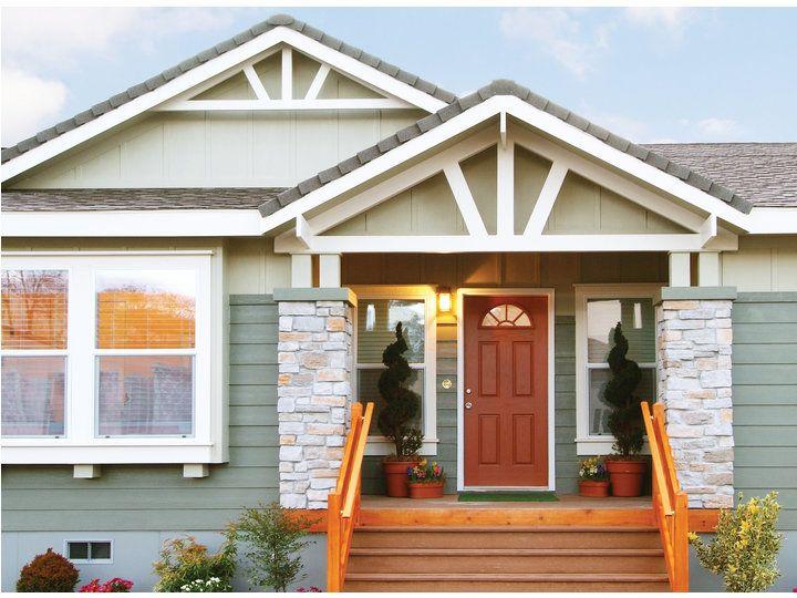 Front Entrance - The Timberridge 5V460T5, Palm Harbor Homes | MF