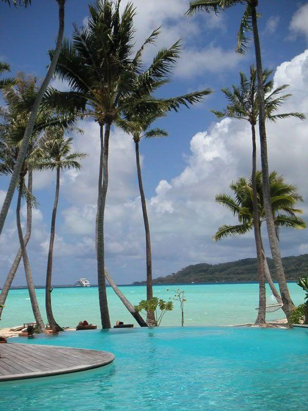 Romantic vacation in Tahiti