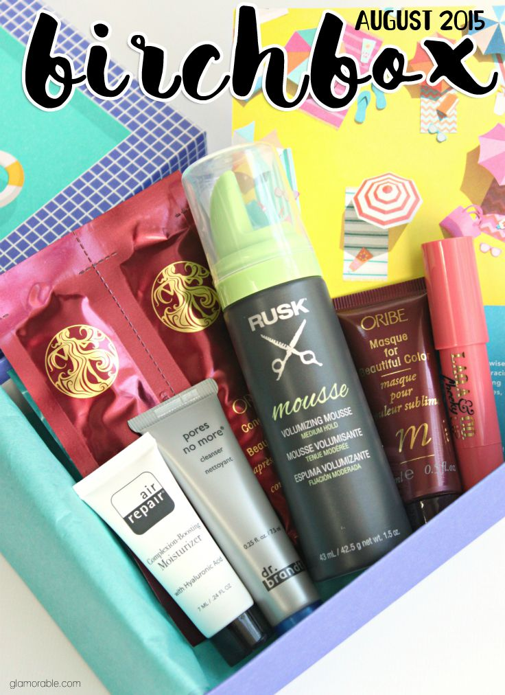 Discover new favorites and must-haves! Check out my Birchbox August 2015 review to find out what you could have received this month. Read more: glamorable.com | via @glamorable