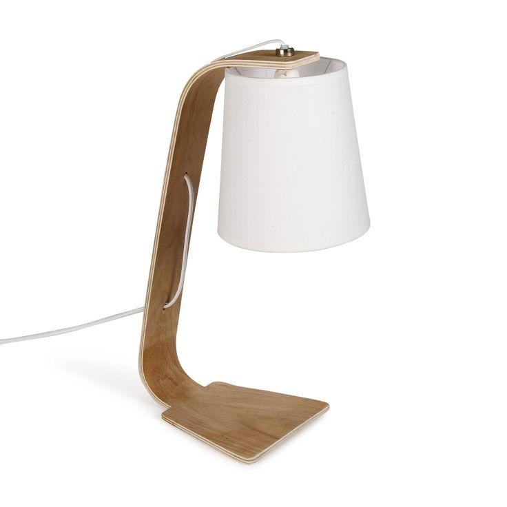 Lampe à poser BLANC H43cm Blanc - Ellica - Les lampes à poser - Luminaires - Salon et salle à manger - Décoration d'intérieur - Alinéa