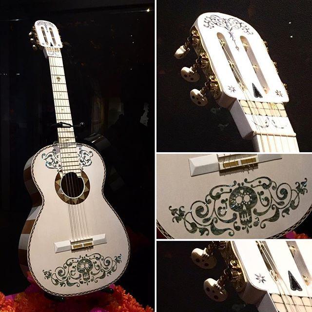 Disney's Coco; Ernesto de la Cruz's guitar.