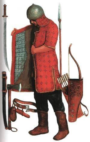 -0499 : - 0400 Scythian warrior, c. 5th century, BCE