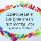 Need a new idea for your literacy centers? This pack includes a Lite Brite sheet for each letter of the alphabet. Each page is ready to print and s...