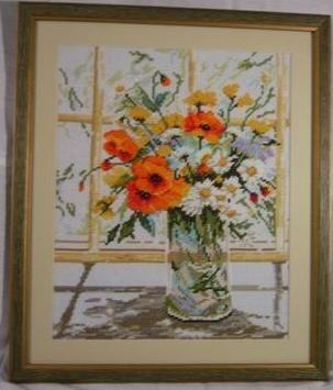 Flowers by the window - Lanarte XI 2002r.