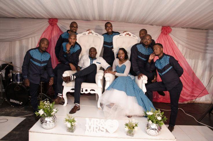 groomsmen tswana tradition