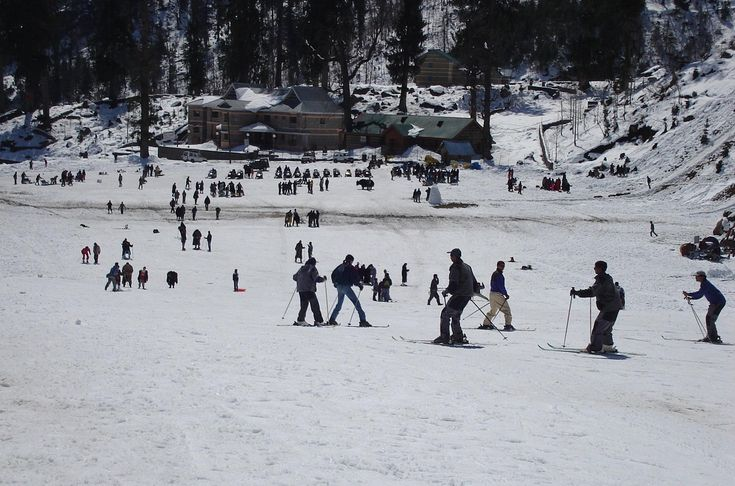 Top 10 Reasons You Should Go Skiing This Winter >>> Skiing in #India is an activity that mostly takes place in the northern regions, where the Himalayas are situated. Skiing is administered by the Indian Mountaineering Foundation in India. The #Himalayas provide an excellent #skiing experience because of their great height which makes for long descents. #Auli #Jammu #Kashmir