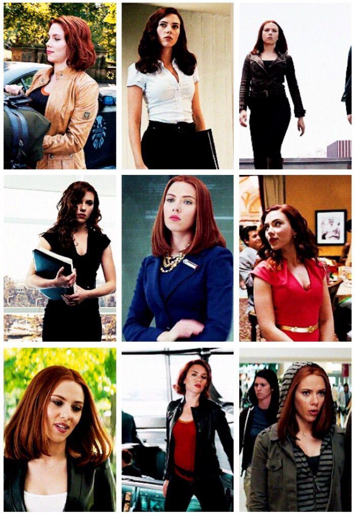 Natasha Romanoff outfits