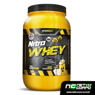 Perfeito para atender às necessidades dos músculos Nitro Whey é usada para aumentar a força e o ganho de massa muscular, além de prevenir o catabolismo muscular causado pelo treino.