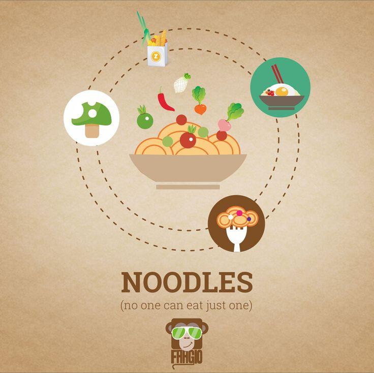 #noodles #noodlelovers #spicynoodles #garlicnoodles #NomNom #Faagio