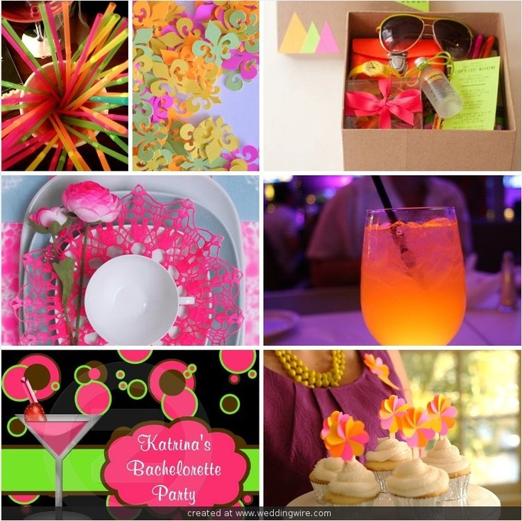 Neon Bachelorette Party @Caitlan Ryser  please make this happen??