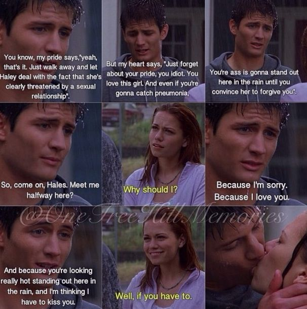 Nathan may not have a book like Lucas, but he has some great lines