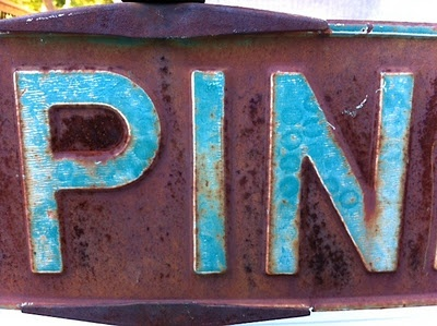 I am pinning this pin....Letters Numbers Words, Pin Pin Pin, Rusty Blue, Crafty Letters, Pinterest Addict, Don Tbothermei Mpin, Rusty Buckets, Rusty Treasure, Pin A Thon