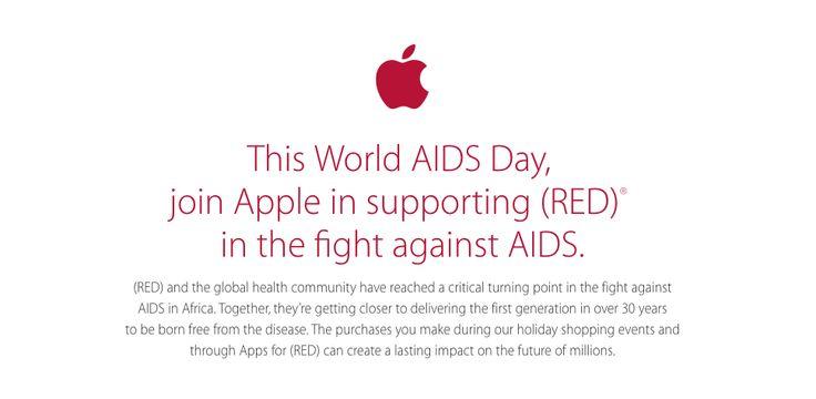 Welt-AIDS-Tag 2014: Apple färbt Apple Stores rot - https://apfeleimer.de/2014/12/welt-aids-tag-2014-apple-faerbt-apple-stores-rot - Heute ist der Welt-AIDS-Tag, der im Zeichen der Krankheit steht, für die viele Spenden gesammelt zu werden, um eine Heilung zu ermöglichen. Viele große Unternehmen beteiligen sich Jahr für Jahr an der Spendenaktion, Apple ist ein sehr gutes Beispiel dafür, wie die Unterstützung der Anti-...