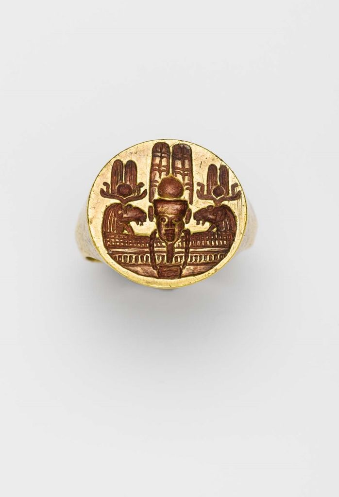 Signet ring Nubian Meroitic Period 110–50 B.C. Museum of Fine Arts, Boston