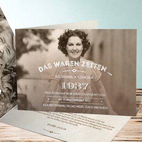 ponad 25 najlepszych pomysłów na pintereście na temat einladung 80, Einladungsentwurf