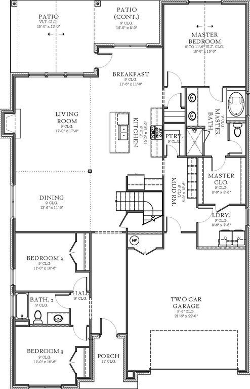1417 Atalon Dr, Moore, OK 73160 - Zillow  Great floorplan, just add 3 car garage & no upstairs.