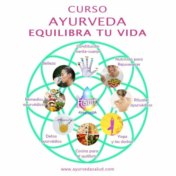 Si sientes que ahora es el momento de tomar las riendas de tu propia salud,  este es tu curso!. Para saber cuidar de ti y de  los tuyos de una manera efectiva y sencilla. http://www.ayurvedasalud.com/portfolio/curso-ayurveda-equilibra-tu-vida-2016-2017/