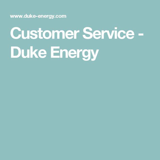 Customer Service - Duke Energy