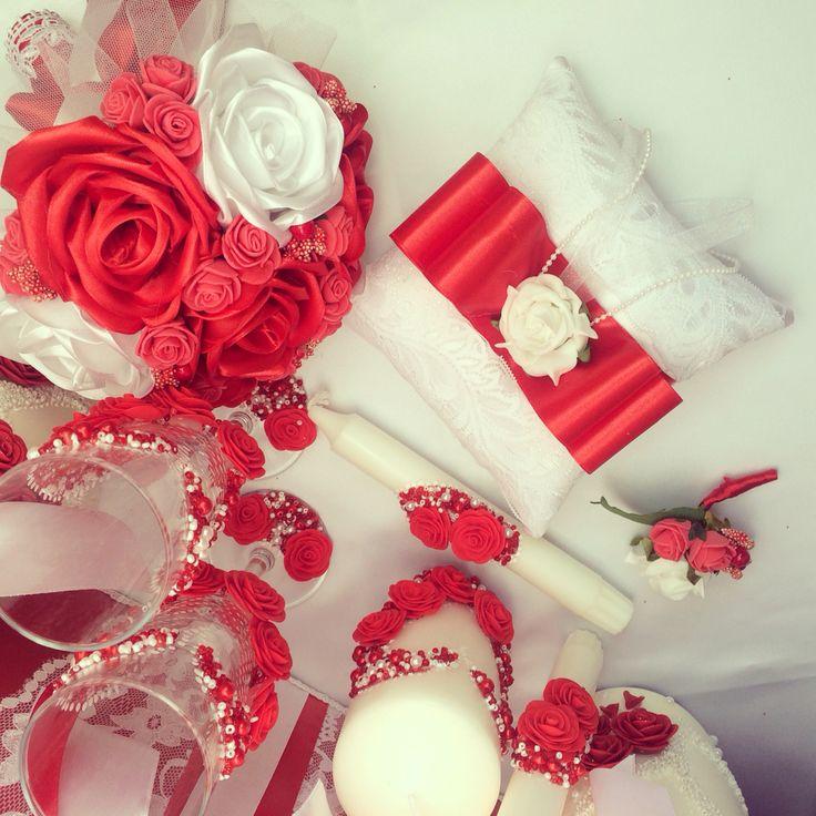 Wedding accessories свадебные аксессуары в красном сундучок для денег банк молодых подушка для колец бутоньерка жениха фальш-букет свадебные фужеры семейный очаг