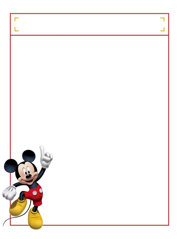"""Mickey jumping with title box - Project Life Disney Journal Card - Scrapbooking. ~~~~~~~~~ Size: 3x4"""" @ 300 dpi. This card is **Personal use only - NOT for sale/resale** Logos/clipart belong to Disney. ***Click through to photobucket to see this this card with lots of different characters***"""
