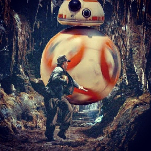 """Star Wars and Indiana Jones - That's not what he meant by """"Move, ball"""""""