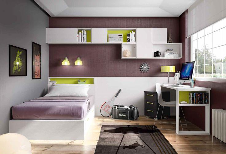 Habitación juvenil moderna Moira en Ámbar Muebles