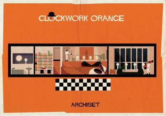 ARCHISET: An Illustrated Tribute to the Interiors of Classic Cinema