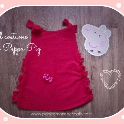Come fare il costume da Peppa Pig (senza cuciture)