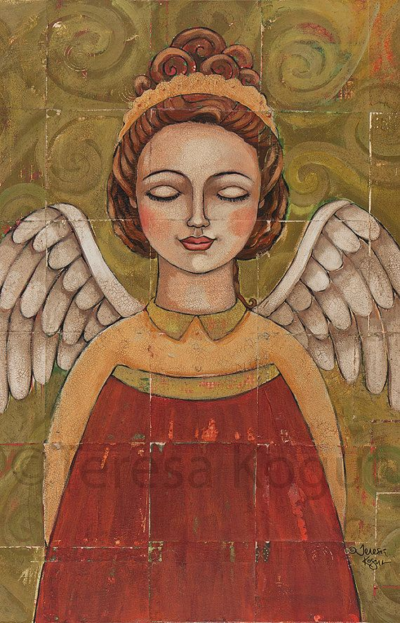 Breath of the Almighty 9x14 print on wood by teresa kogut on Etsy