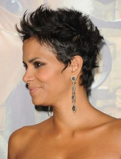25 trending halle berry haircut ideas on pinterest halle berry halle berry black cropped pixie haircuts urmus Image collections