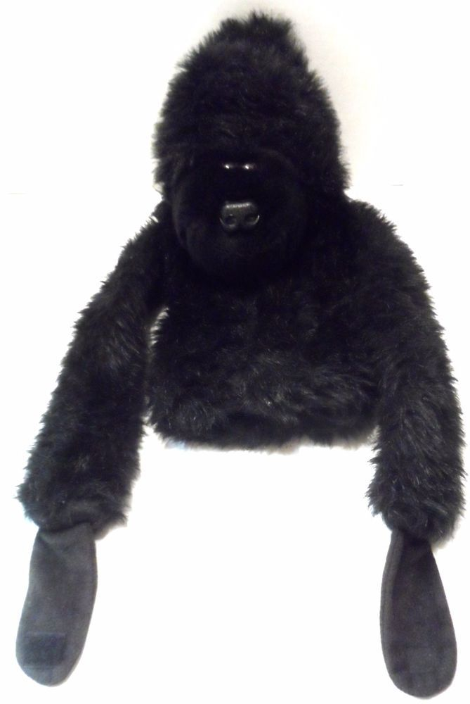 Golf Headcover Plush Ape Gorilla Wood head cover Vintage 1980 long arms Daphnes  #ToysbyDaphne