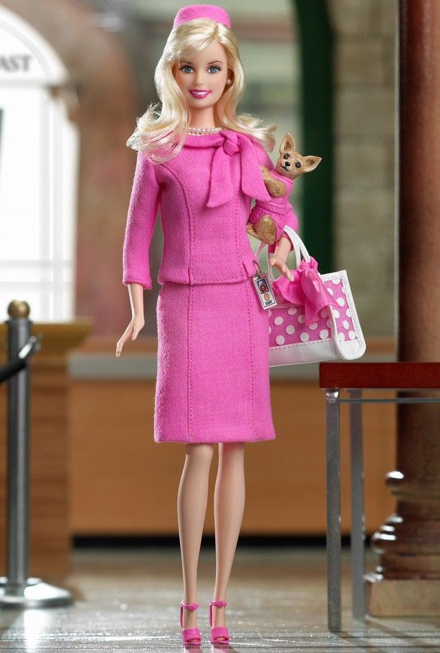 Barbie® Doll as Elle Woods from Legally Blonde 2: Red, White & Blonde | Designed by: Sharon Zuckerman | Release Date: 6/1/2003