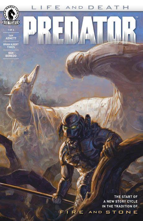 """Predator – Life and Death 1"" (2016) Cover diDavid Palumbo #DarkHorseComics #Predator"