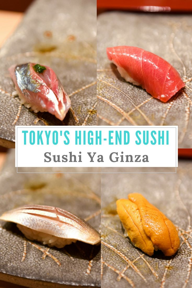 Sushi will never taste the same! Sushi Ya Ginza. Full review by www.travelwithnanob.com   #Tokyo #Japan #Sushi