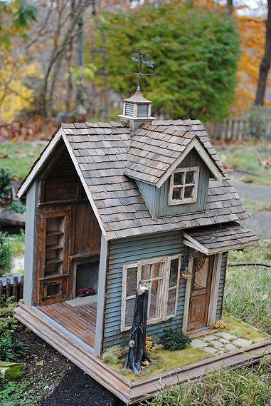 Custom Dollhouses by Liz LeBosse | Witches Cottage