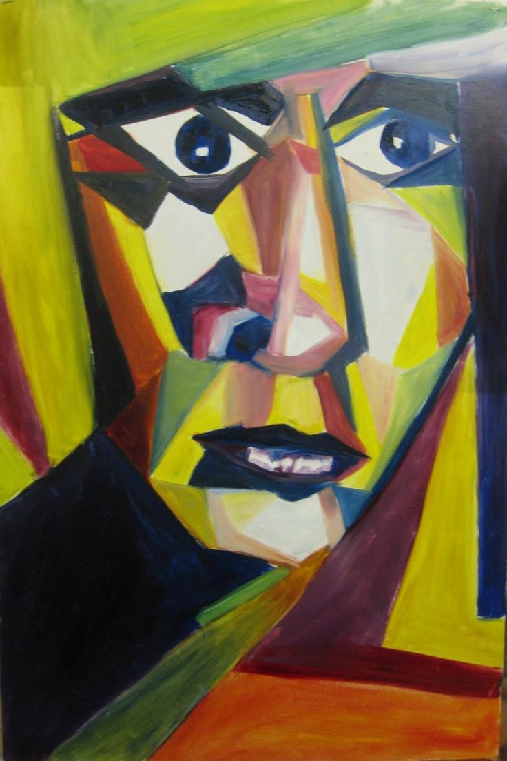 Cubism face | Cubist Inspiration | Pinterest