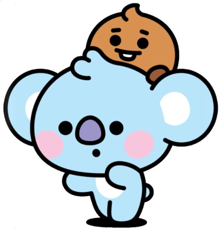 #bt21 #tata #chimmy #baby #kpop #bts #cute #handpainted in 2020   Bts chibi, Cute anime chibi ...