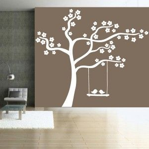 sticker nature arbre en fleurs balan oire oiseaux chambre d 39 enfant pinterest produits et. Black Bedroom Furniture Sets. Home Design Ideas