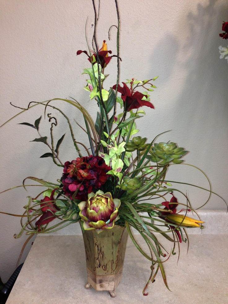 1000 Images About Silk Florals For Mum 39 S Bathroom On Pinterest Floral Arrangements Peacocks