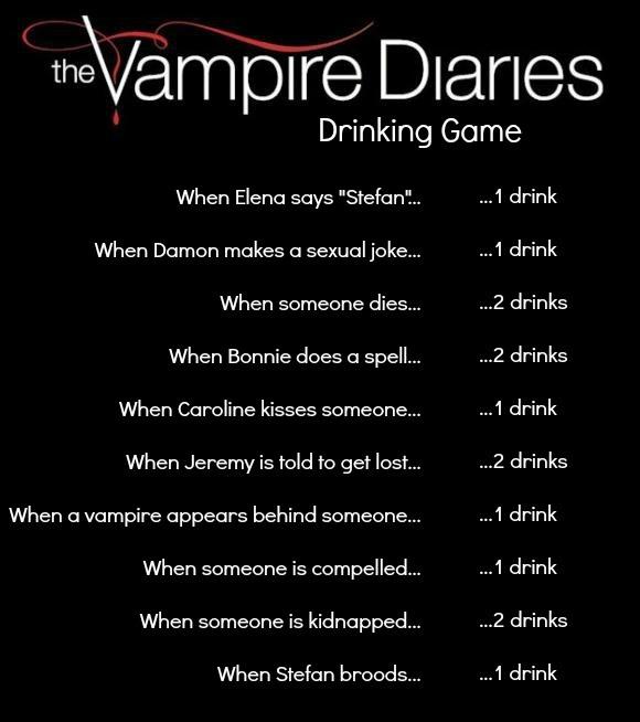 vampire diaries drinking game