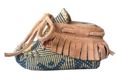 Baby Moccasin in Ikat