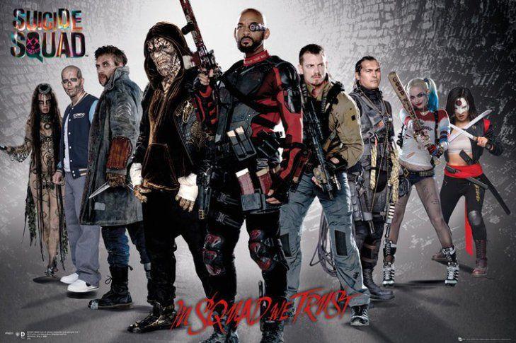 #Joker, #HarleyQuinn e gli altri membri della Task Force X nelle nuove foto di #SuicideSquad