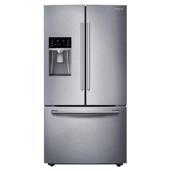 "36""-Wide, 23 cu. ft. Capacity French Door Refrigerator | Samsung Home Appliances"