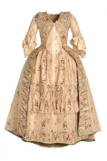 French robe c. 1770