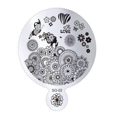Nails - NAIL ART IMAGE STAMPING PLATE (SG-SERIES) for sale in Virginia (ID:219074383)