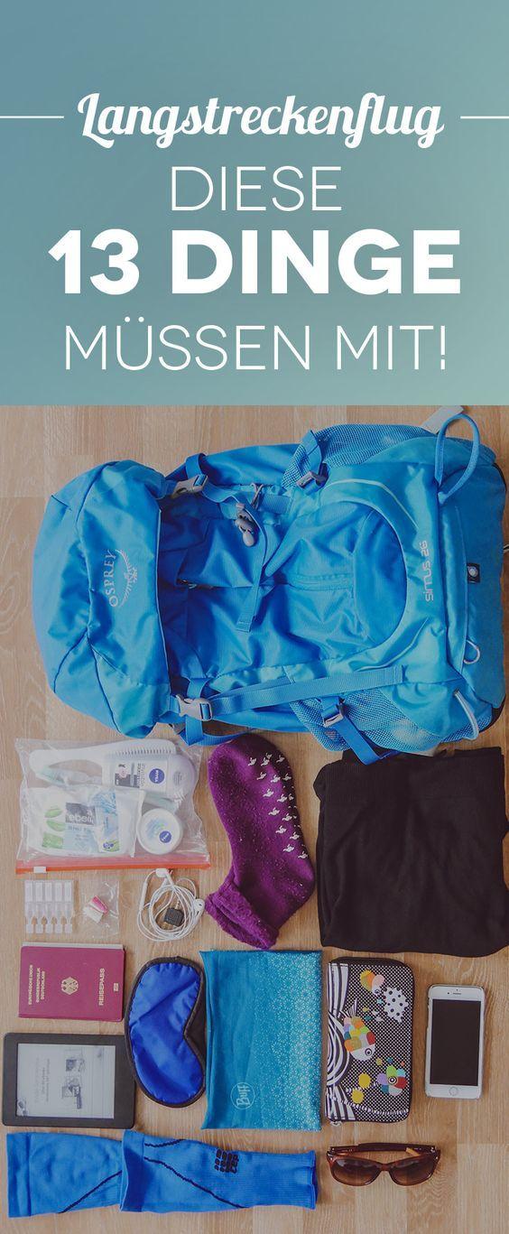 13 Dinge, die du beim Langstreckenflug unbedingt im Handgepäck haben solltest [Sponsored Post]