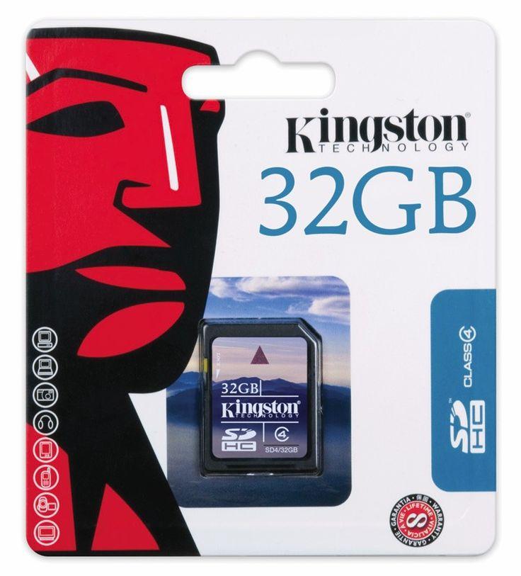 Carte mémoire KINGSTON SD de 8 à 32Go
