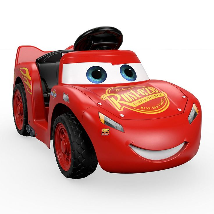 Disney / Pixar Cars 3 Lil' Lightning McQueen Ride-On by Power Wheels, Multicolor