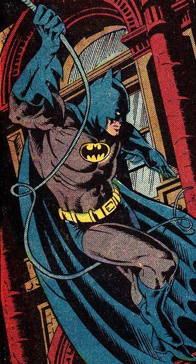 Batman. Detective Comics #527 (June 1983) Art by Dan Day (pencils), Pablo Marcos (inks) & Adrienne Roy (colors)